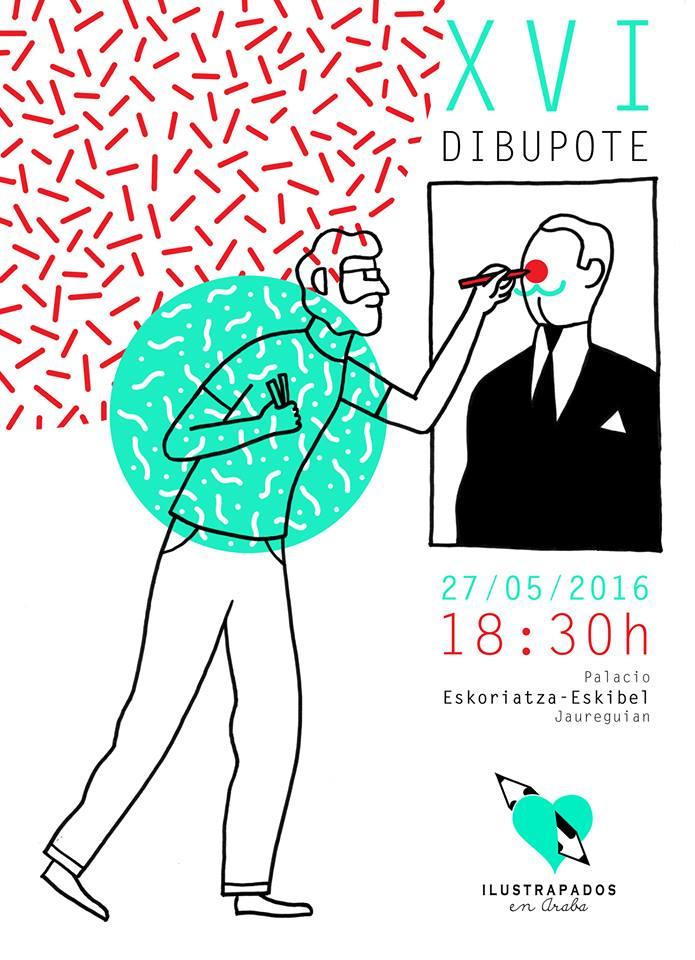 Ilustrapados; Dibupote Mayo 2016
