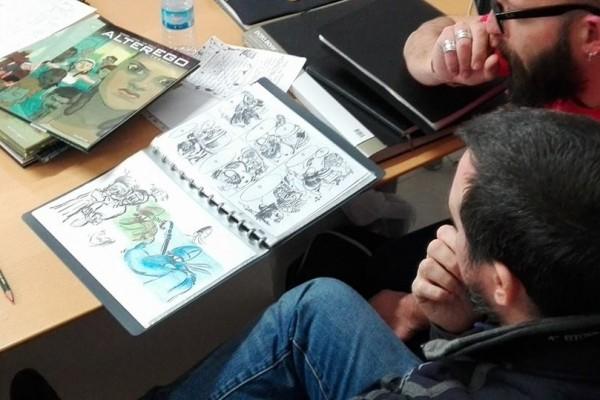 ilustrapados; Intensivo fin de semana con Ricard Efa, Dossier de Cómic