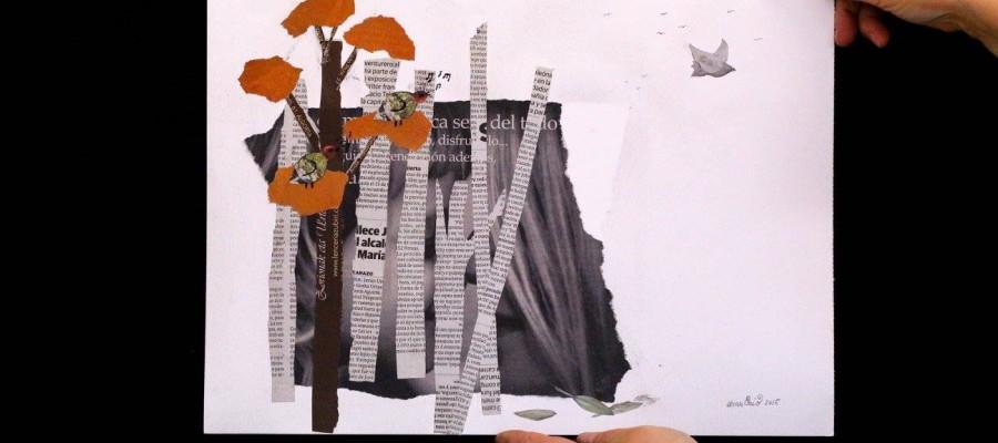 Ilustrapados; Esto no es / Hau ez da Taller de Collage