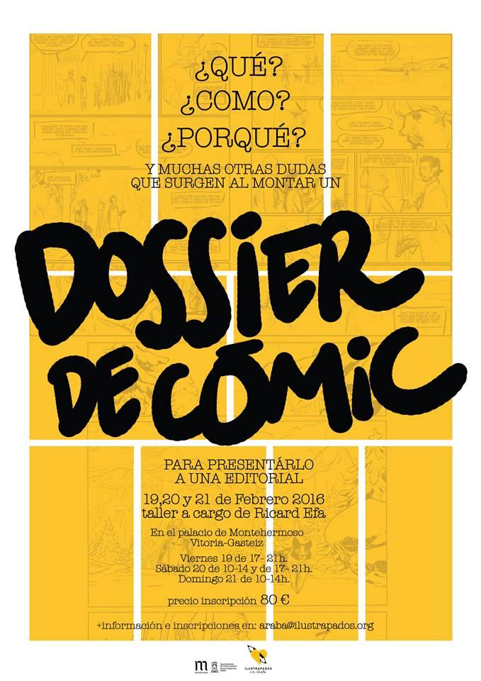 ilustrapados; Dossier de Cómic con Ricard Efa
