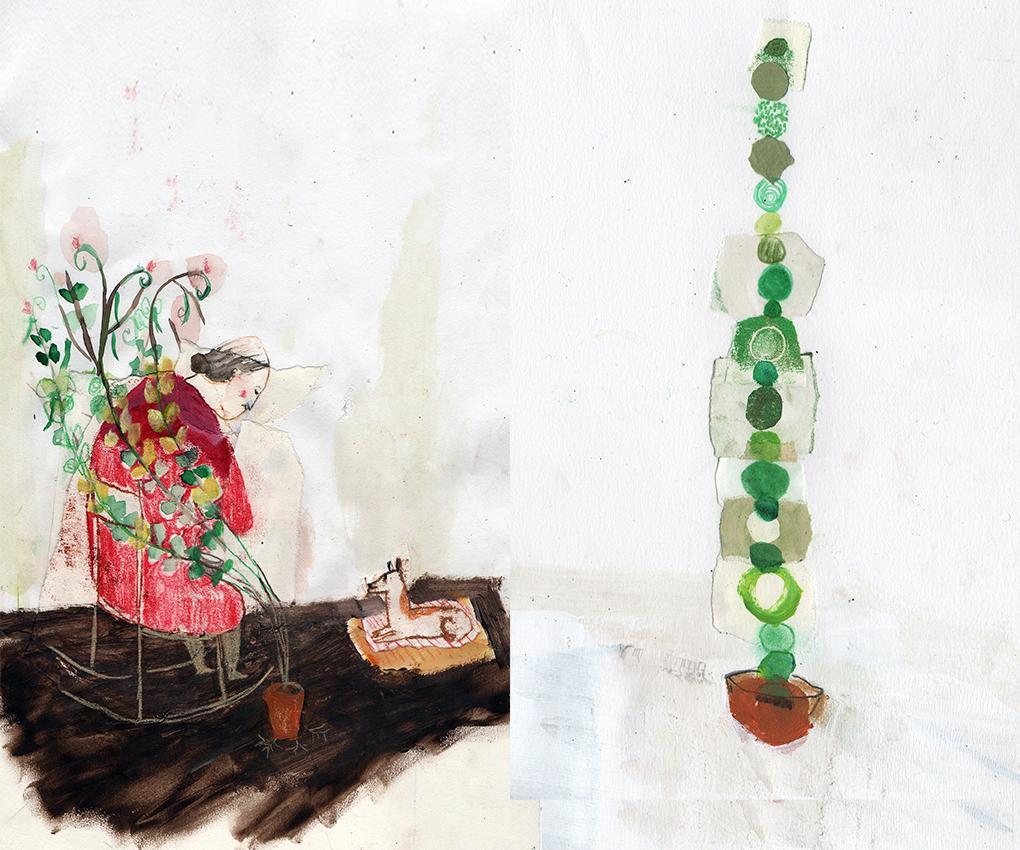 ilustrapados; Taller de Escritura + Ilustración con Juan Arjona y Rocío Araya