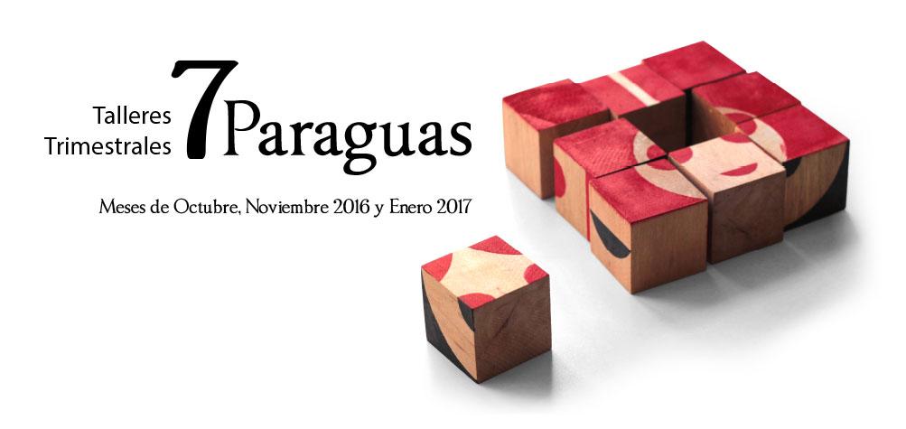 Ilustrapados; talleres trimestrales 7 Paraguas