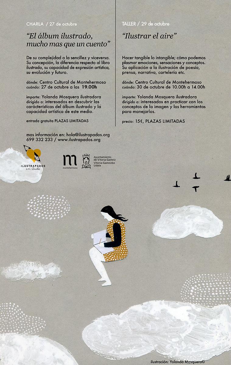 ilustrapados; Charla y Taller con Yolanda Mosquera